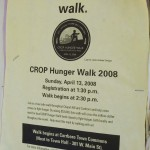 Carrboro CROP walks for hunger