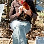 Children learn to farm, care for chickens at camp