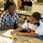 From Jaguars to Lions: CHS football players mentor FPG kids