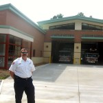 "Town celebrates new ""green"" fire station"