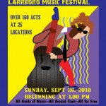 Carrboro Music Festival ready for 13th year
