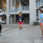Internationally acclaimed jump ropers like to stay local