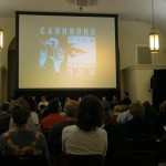 Seats packed at the fifth annual Carrboro Film Festival