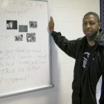Former Marine coaches Carrboro students on more than basketball