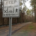 Greenways promote non-motorized transportation