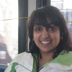Ridin' the J Bus: Jani combines her passion for acting and public health