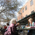 Forget candy and flowers; local residents celebrate their love for Carrboro this month